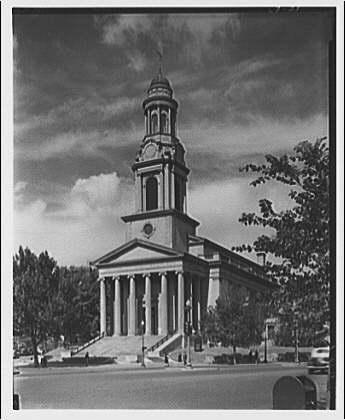 1957 Church Survey: National City Christian- Random church not in Shaw